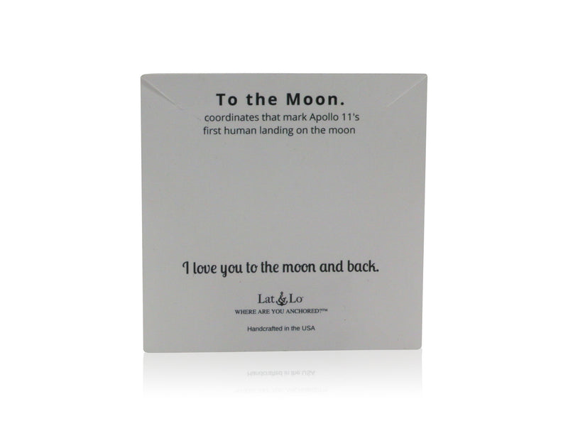 I love you to the Moon & back | Moon