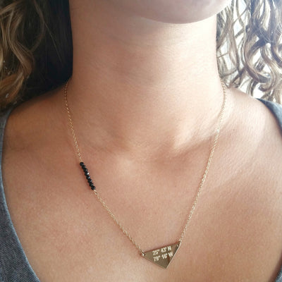 Stone Accent Lat & Lo™ Necklace - Lat & Lo™ - 2