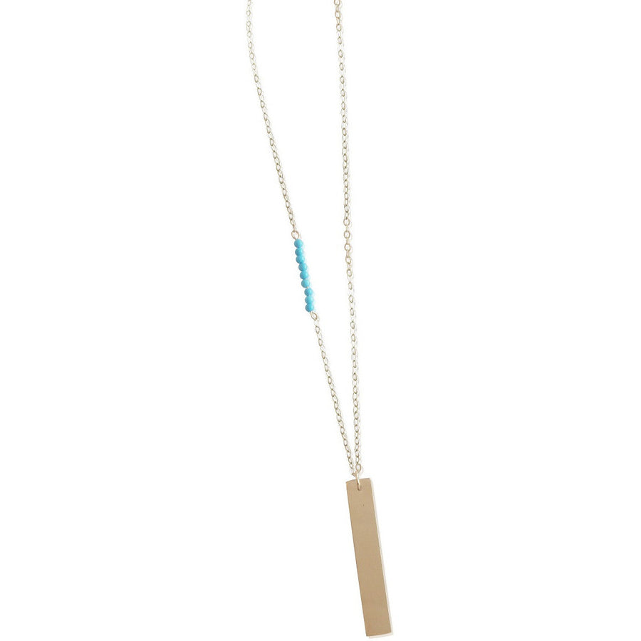 Stone Accent Lat & Lo™ Necklace - Lat & Lo™ - 5
