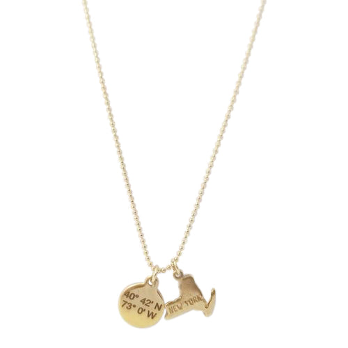 Lat & Lo™ Stately Charm Necklace