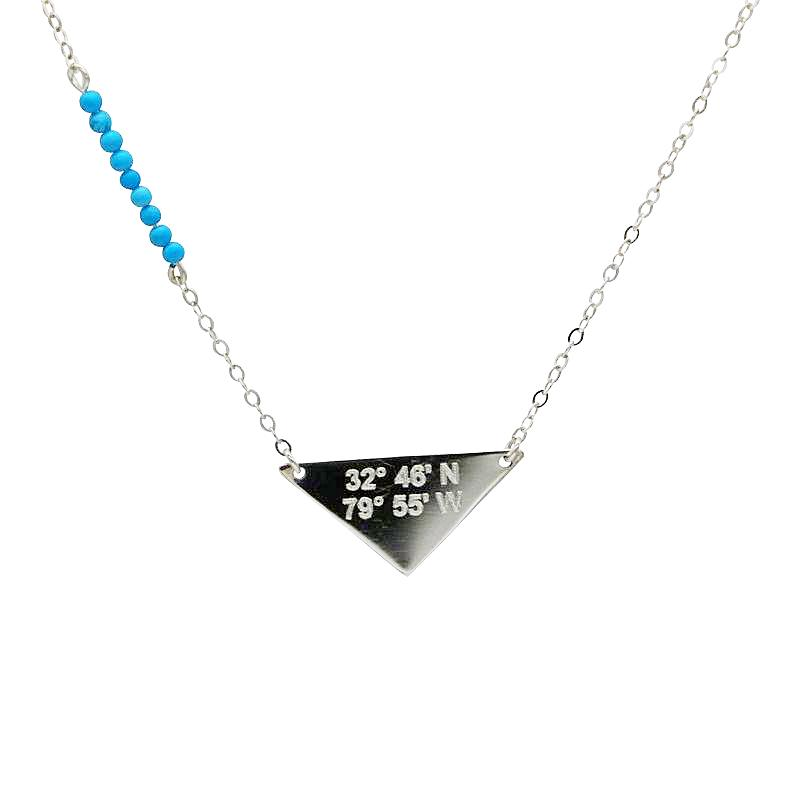 Stone Accent Lat & Lo™ Necklace