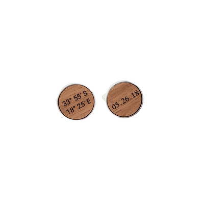 Walnut Cufflinks