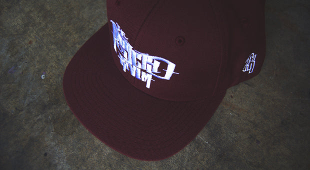 Psycho Realm - Classic (Burgundy) Snapback Hat