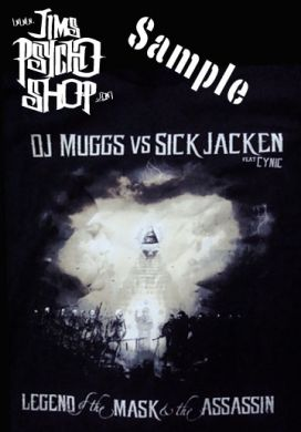 Psycho Realm Dj Muggs Vs Sick Jacken Shirt