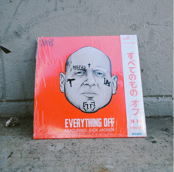 "Rare full color print ""Everything"" Off vinyl, SICK JACKEN side"