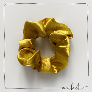 Lustrous Scrunchie -  Golden