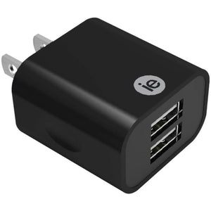 Iessentials Ien-ac22a-bk 2.4-amp Dual Usb Wall Charger