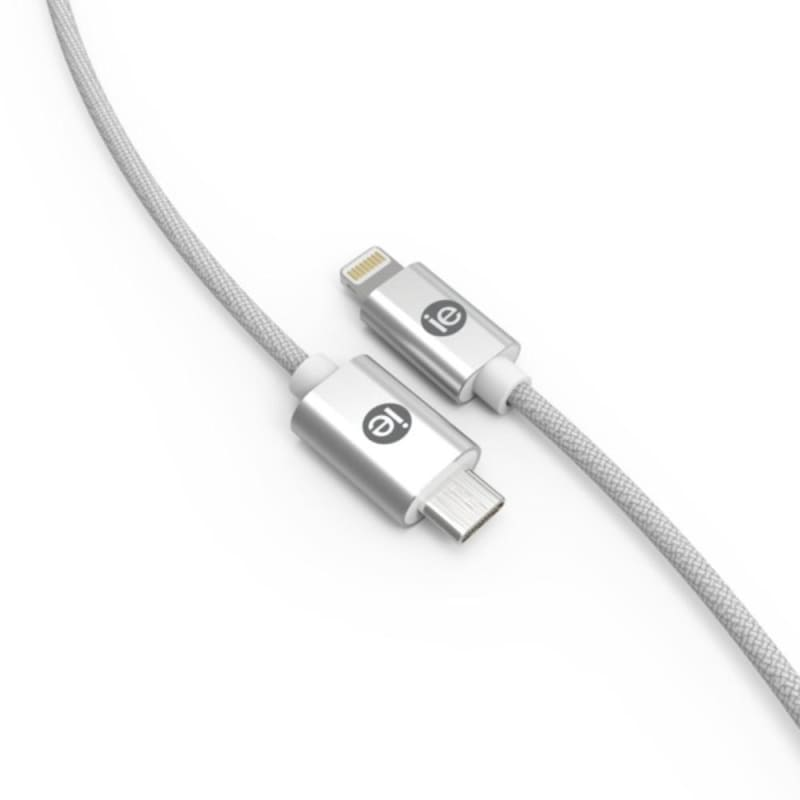 Iessentials Ien-bc6c2l-wt Braided Usb-c To Lightning Cable 6