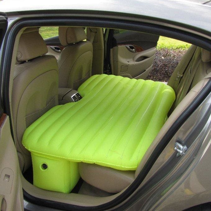 Inflatable Car Travel Bed - Automotive