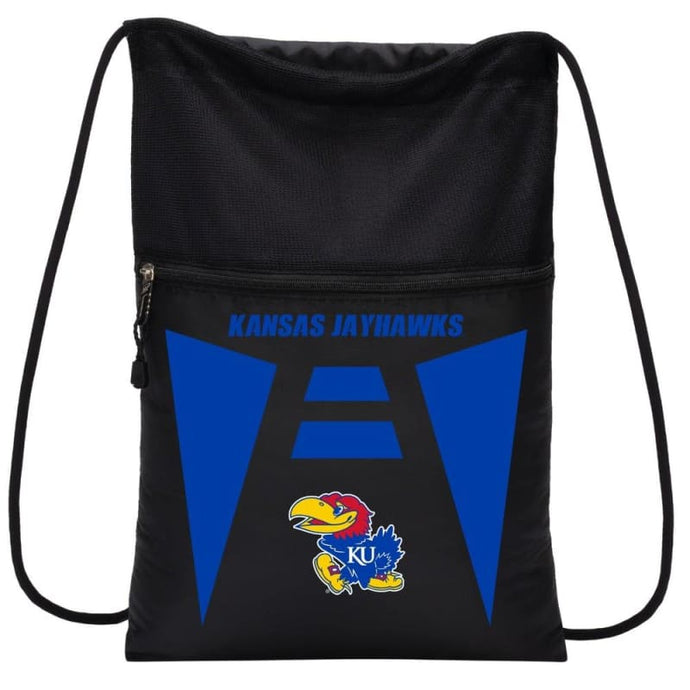 Kansas Jayhawks Team Tech Backsack - Sports Mem Cards & Fan