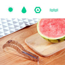 Load image into Gallery viewer, Kitchen Gadgets Watermelon Slicer Stainless Steel - Silver -