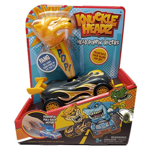 Knuckle-Headz Saber Tooth Tiger Toy - Toys