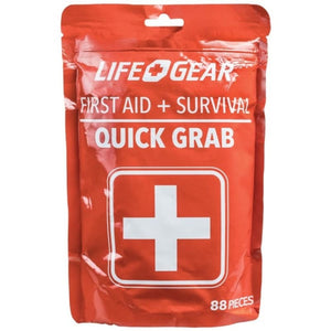Life+gear 41-3819 88-piece Quick Grab First Aid And Survival