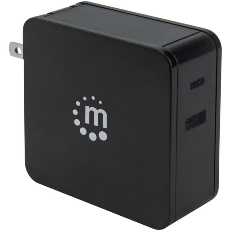 Manhattan 180214 60-watt Power Delivery Wall Charger (black)