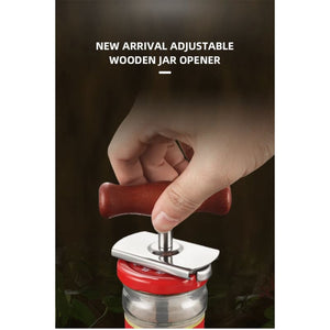 Manual Stainless Steel Easy Can Jar Opener Adjustable - Home