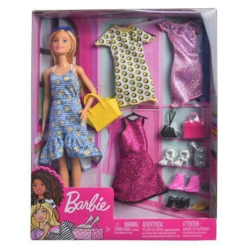 Mattel DP Barbie Doll & Party Fashions - Toys