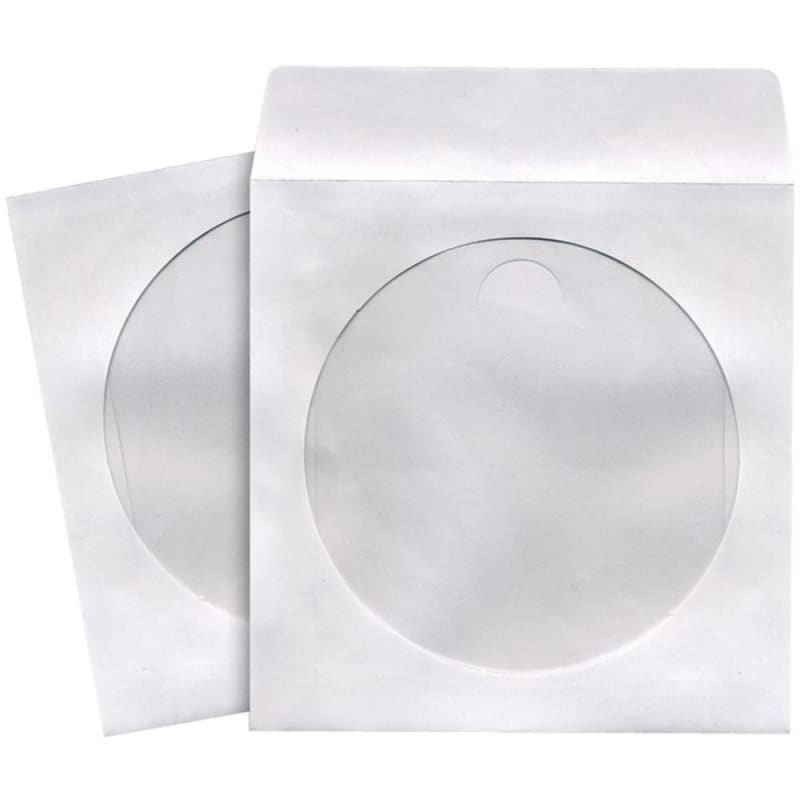 Maxell 190135 - C Cd-dvd Storage Sleeves (50 Pk; White) -