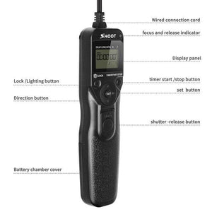 MC-DC2 Timer Remote Control Shutter Release - Audio & Video