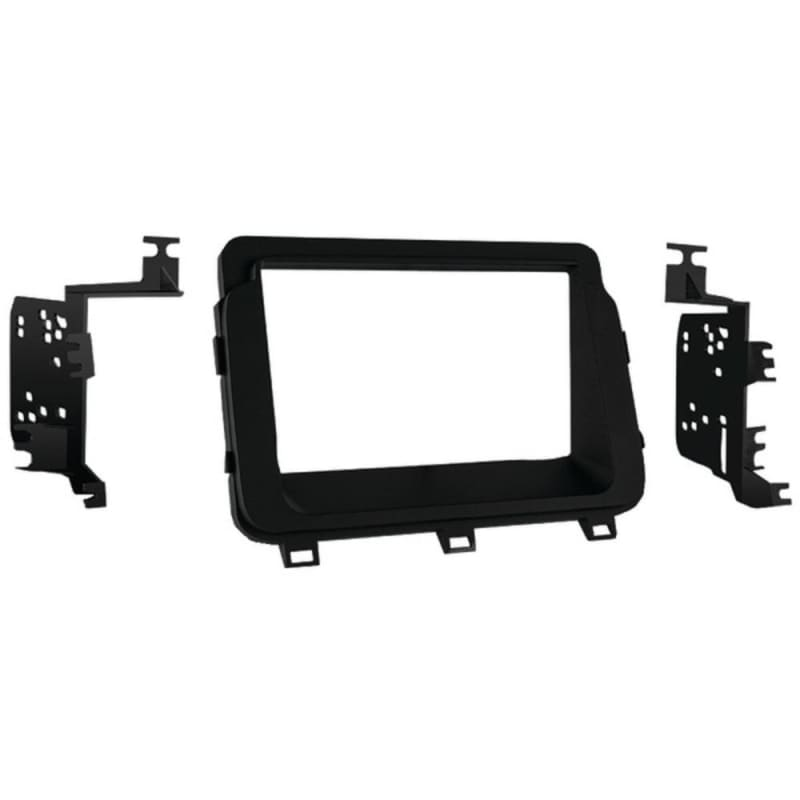 Metra 95-7359b Double-din Installation Kit In Matte Black