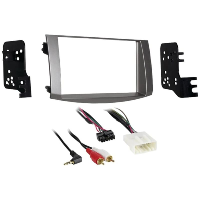 Metra 95-8215s Double-din Installation Kit In Silver For