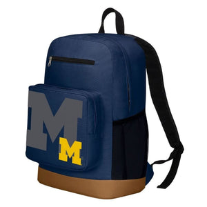 Michigan Wolverines Playmaker Backpack - Sports Mem Cards &