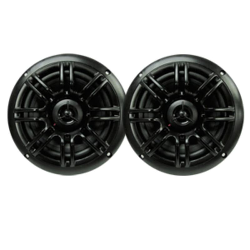 Milennia Spk652b 6.5 2-way Marine Speakers - 150w - Black -