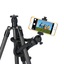 Load image into Gallery viewer, Mini Tripod Flexible Phone Tripod Stand - Audio & Video