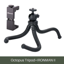 Load image into Gallery viewer, Mini Tripod Flexible Phone Tripod Stand - w Cold Shoe Mount