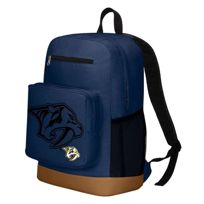 Nashville Predators Playmaker Backpack - Sports Mem Cards &