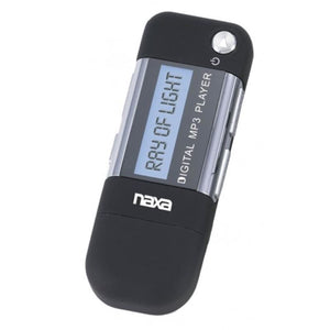 Naxa Mp3 Player With 4gb Built-in Flash Memory Lcd Display