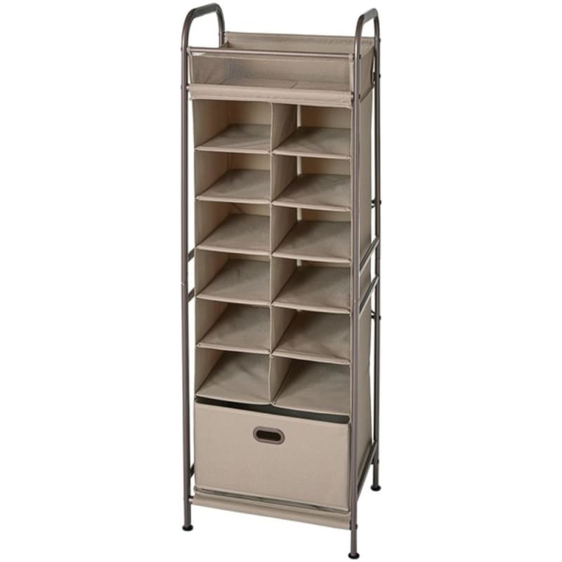 Neatfreak Nfc05123 A69a8a-001 Vertical 12-cubby Shoe Storage