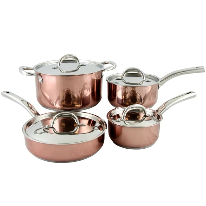 Oster Brookfield 8 Piece Cookware Set In Copper - Home Goods