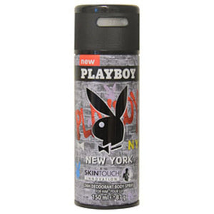 Playboy New York Deodorant Body Spray 5 Oz For Men - Bath &