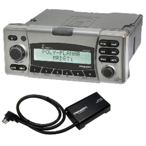 Poly-planar Mrd87i Ipx6 Marine Radio W-siriusxm Receiver And