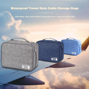 Portable Travel Cable Bag Digital USB Gadget - Other