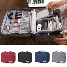 Load image into Gallery viewer, Portable Travel Cable Bag Digital USB Gadget - Other