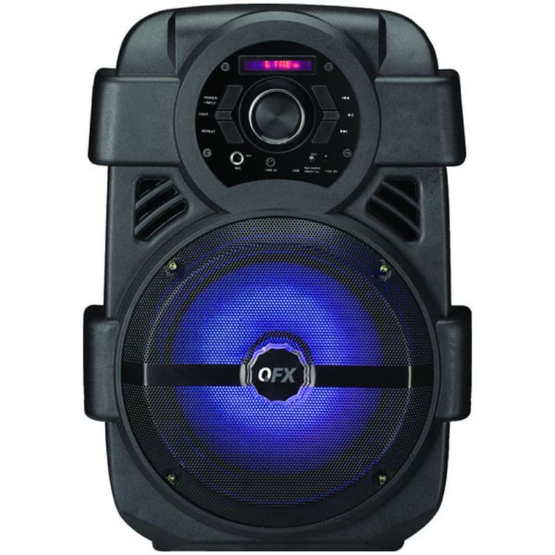 Qfx Pbx-8 8 Rechargeable Bluetooth Party Speaker - Musical