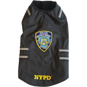 Royal Animals 13z1007r Nypd Dog Vest With Reflective Stripes