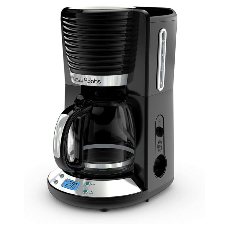 Russell Hobbs Retro Style 8 Cup Coffee Maker In Black - Home