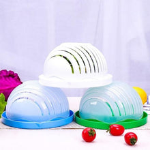 Load image into Gallery viewer, Salad Cutter Bowl Kitchen Gadget Vegetable Chopper - Home &