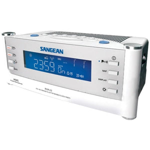 Sangean Rcr22 Am-fm Atomic Clock Radio With Lcd Display -