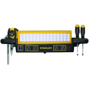 Stanley Psl1000s 1,000-lumen Workbench Shop Light With Power