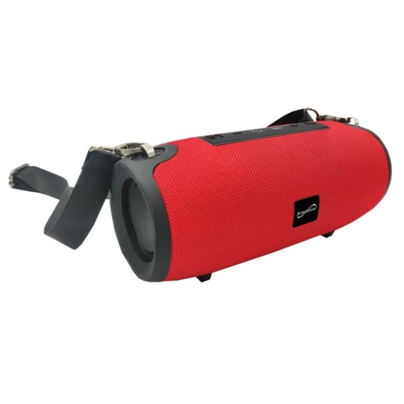 Supersonic Sc-2327bt- Red Portable Bluetooth Speaker With
