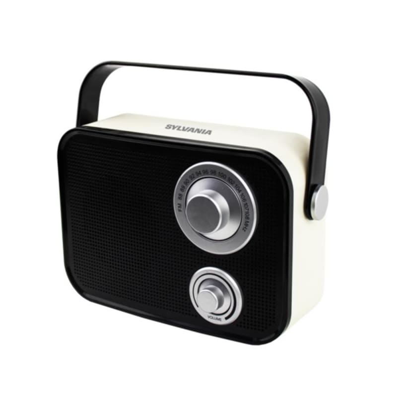 Sylvania Sp563-black Retro Design Bluetooth Speaker (black)