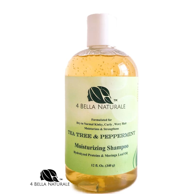 Tea Tree & Peppermint Moisturizing Shampoo - Haircare