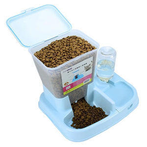 Two In One Automatic Pet Food Feeder Bowl - Petcare