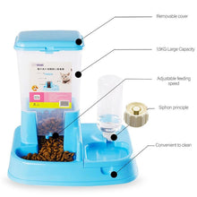 Load image into Gallery viewer, Two In One Automatic Pet Food Feeder Bowl - Petcare