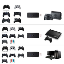 Load image into Gallery viewer, USB Wireless Bluetooth Game Controller Adapter for PS3 PS4