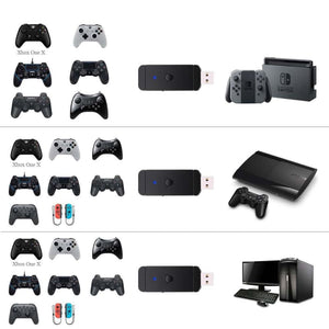 USB Wireless Bluetooth Game Controller Adapter for PS3 PS4