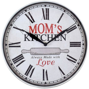 Westclox 32897mk 12-inch Mom's Kitchen Wall Clock - Home